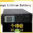 Freego durable electric storage battery 48v for power banks