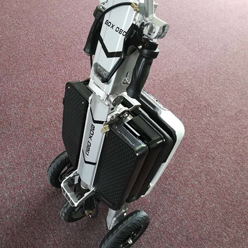 3 Wheels Folding Electric Mobility Scooter for Adult with Seat-6