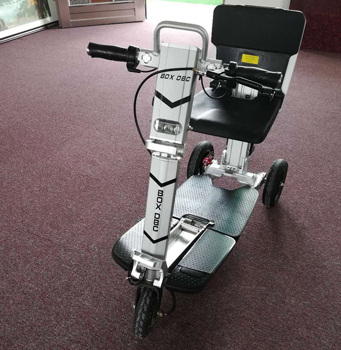 3 Wheels Folding Electric Mobility Scooter for Adult with Seat-8