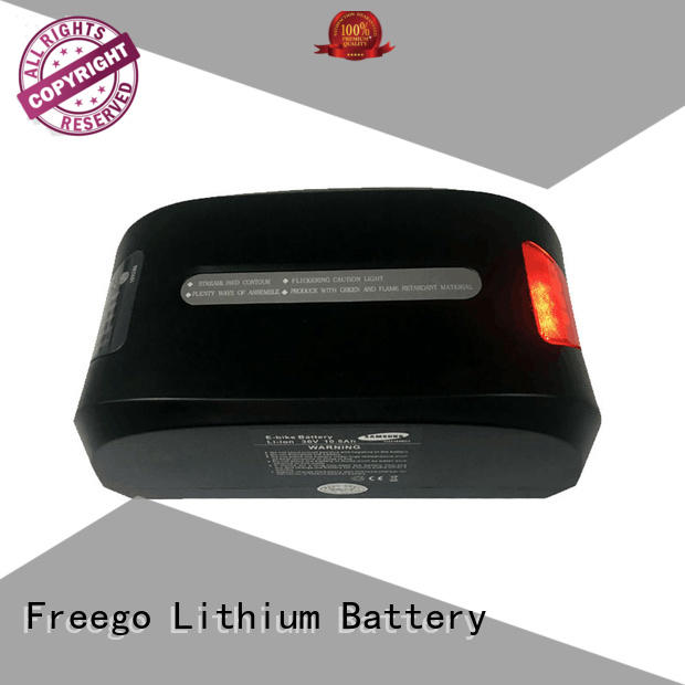 Freego packs ebike lithium battery online for electric bicycle