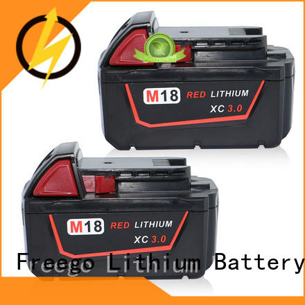 Freego light weight power tool battery series for electric drill