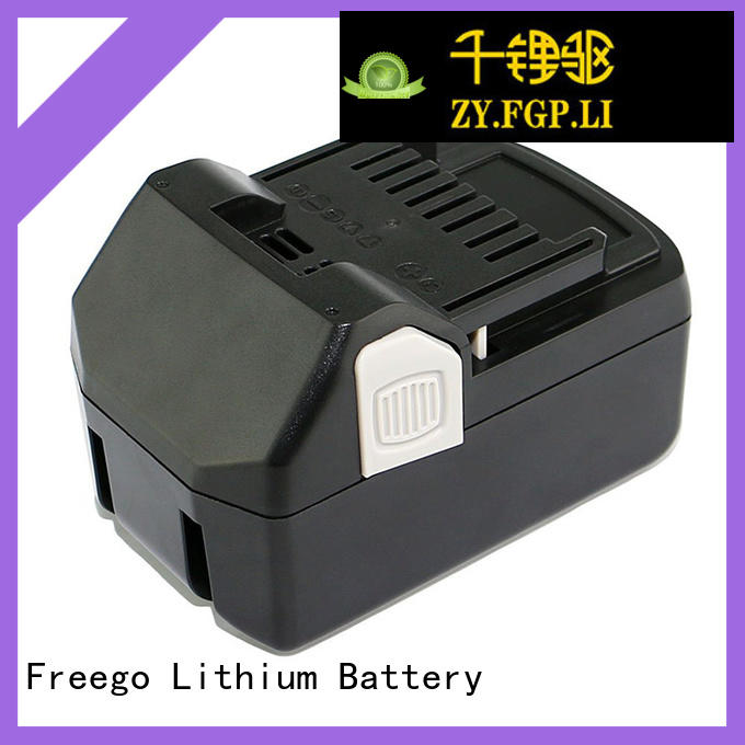 Freego light weight rechargeable batteries for cordless drills supplier for instrument
