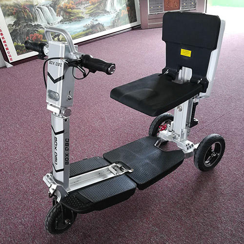 3 Wheels Folding Electric Mobility Scooter for Adult with Seat-2