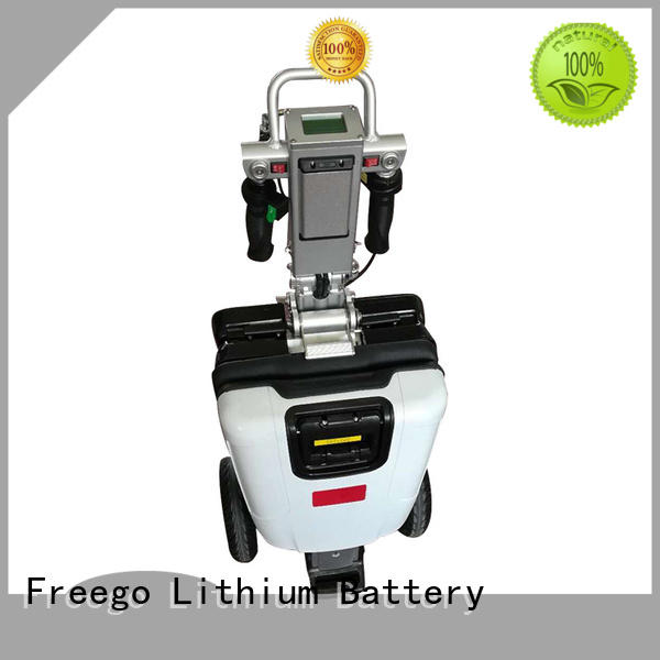 Freego adult electric riding scooters with Seat for outdoor