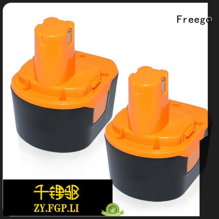 Freego 96v12v144v18v cordless drill battery from China for tool