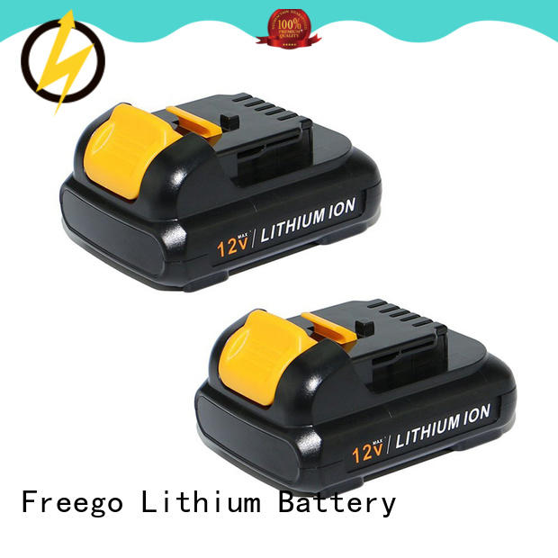 Freego practical cordless drill battery supplier for tool
