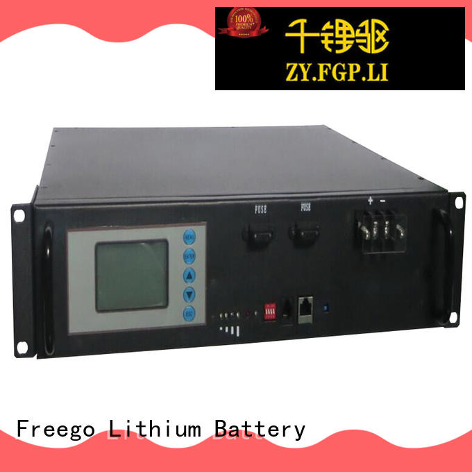 Freego light weight lithium ion battery for solar storage with good price for Solar energy storage