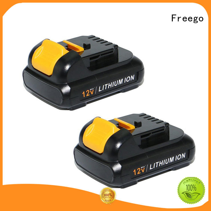 Freego light weight electric drill battery design for tool