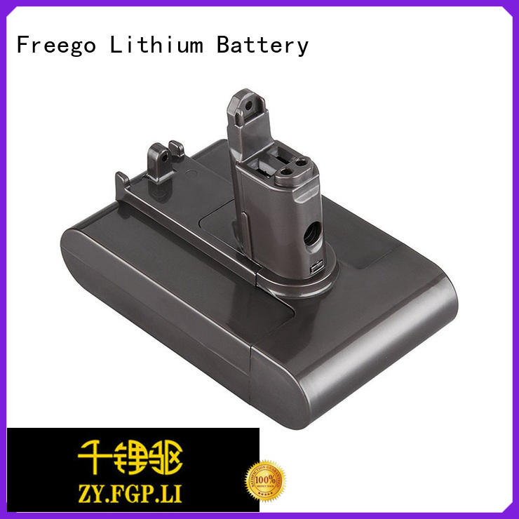 Freego nimhnicd dyson battery pack design for dust collector