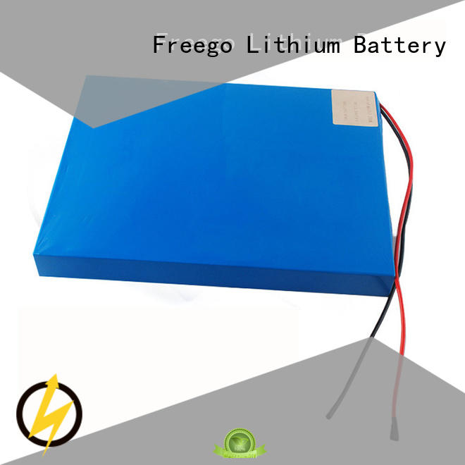 Freego solar lithium ion battery for solar storage manufacturer for street lights