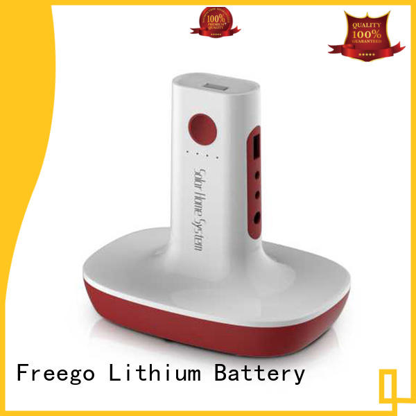 Freego multifunction battery powered portable charger manufacturer for outdoor