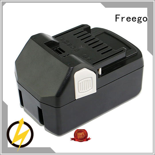 Freego packs cordless battery from China for electric drill