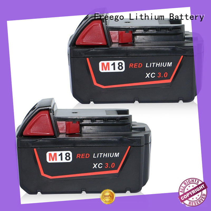 Freego long lasting rechargeable batteries for cordless drills from China for drill