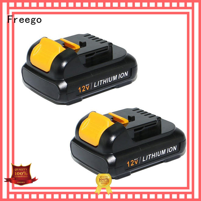 Freego long lasting cordless drill battery supplier for instrument