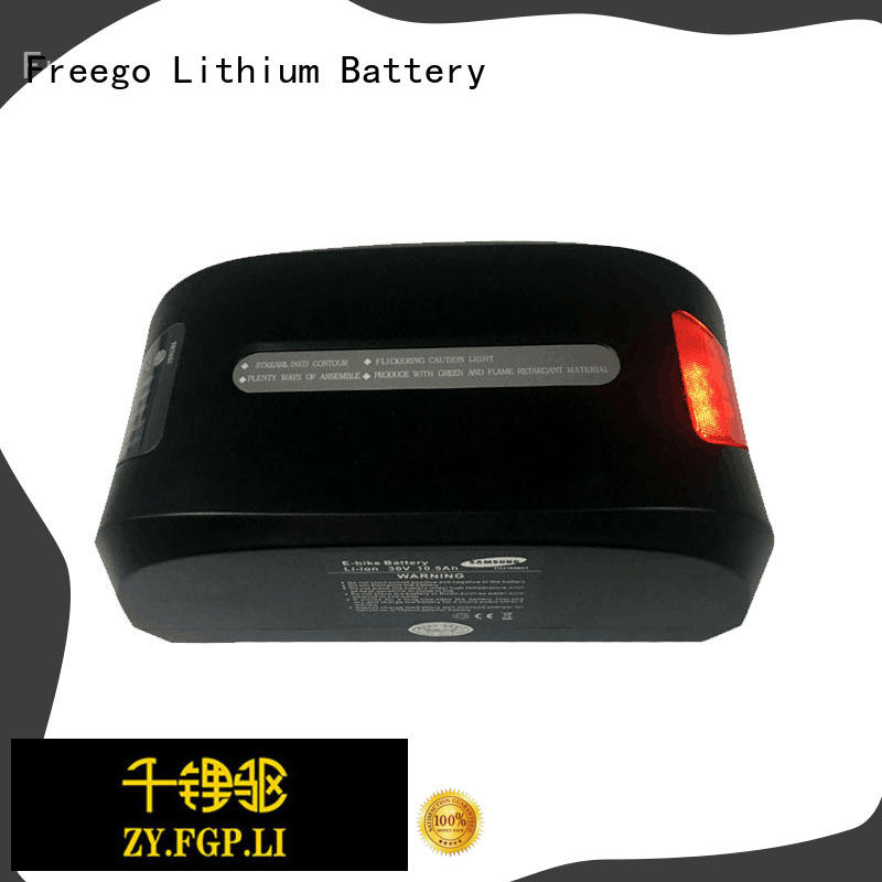 Freego customized electric scooter battery online for e-bike