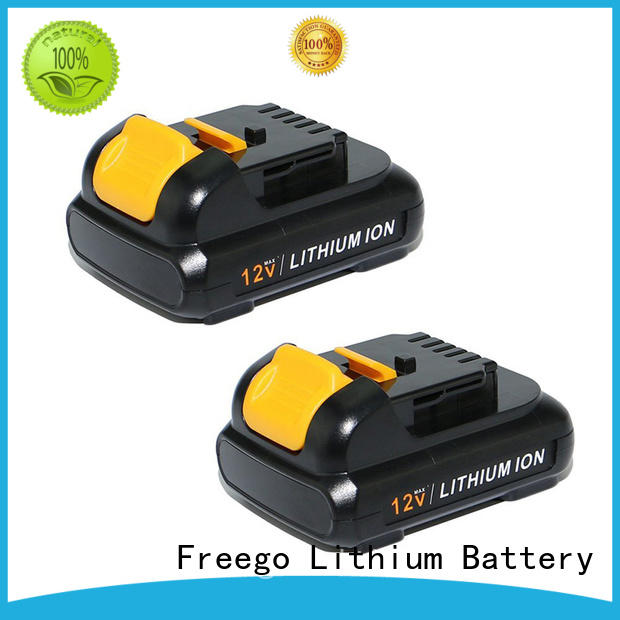 Freego series rechargeable drill batteries design for instrument