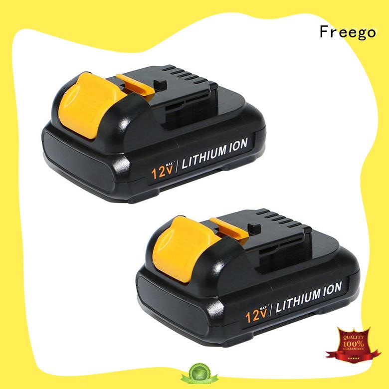 Freego 12v144v18v drill battery supplier for electric drill