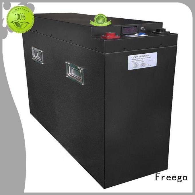 Freego durable storage battery with good price for Solar energy storage