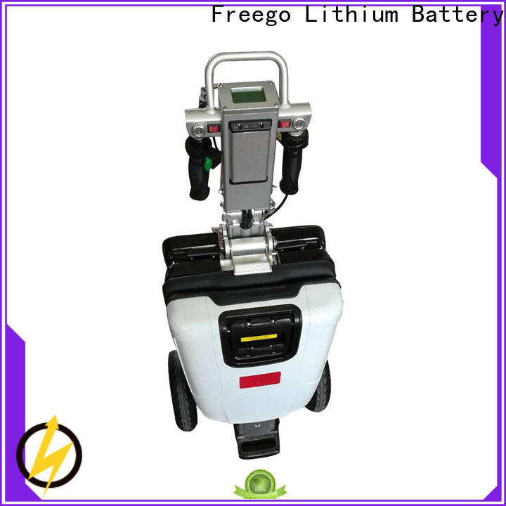 Freego adult electric scooter bike promotion for subway