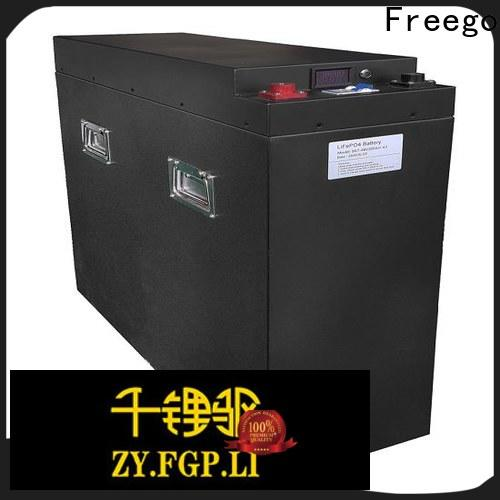 Freego solar lithium battery for solar storage design for Solar energy storage