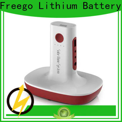 Freego professional portable battery bank factory price for outdoor