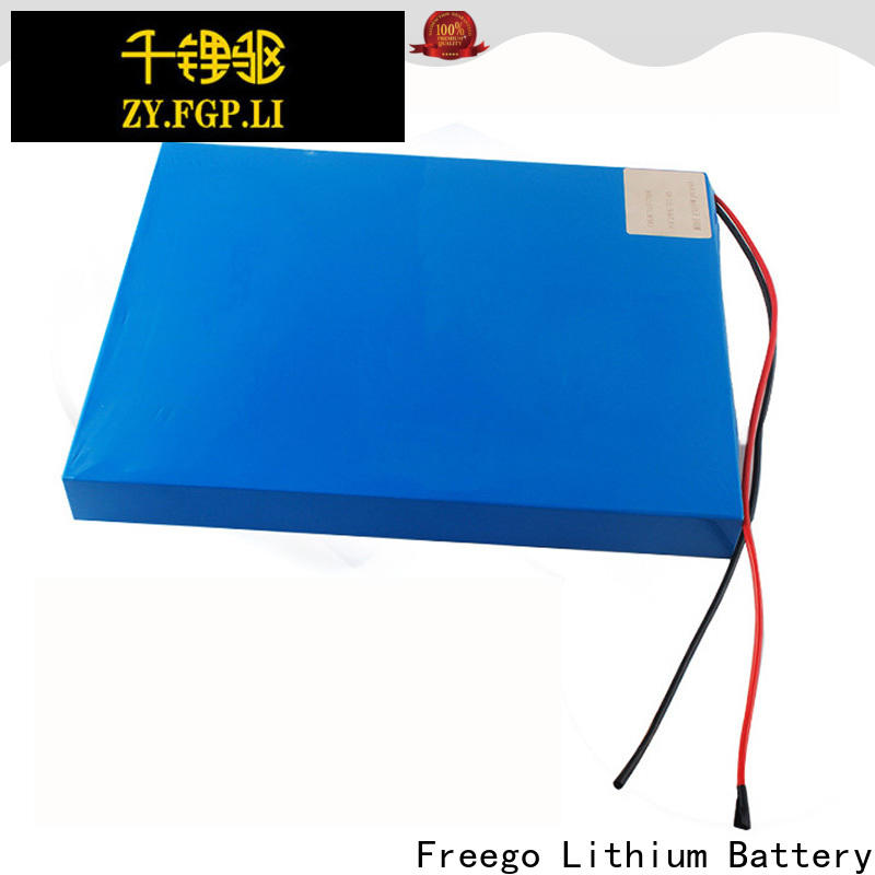 Freego light weight best batteries for solar power storage with good price for street lights