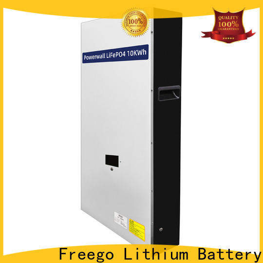 Freego efficient lithium ion battery for solar storage manufacturer for street lights