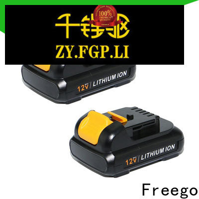 Freego battery electric drill battery from China for instrument