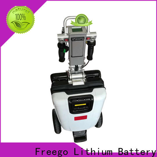 Freego portable electric scooters promotion for subway