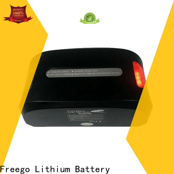 Freego good quality lithium ion battery for ebike online for electric bicycle