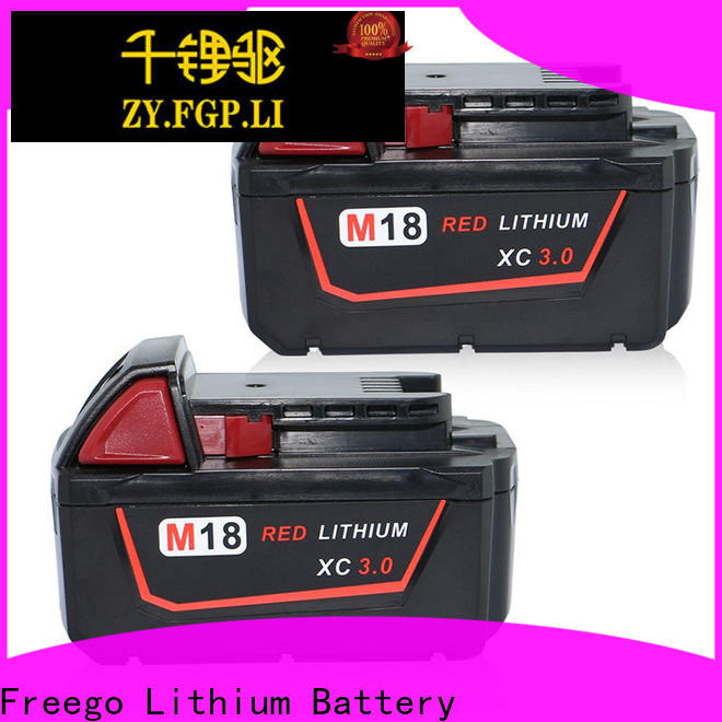 Freego durable cordless battery design for drill