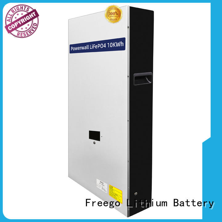 Freego practical lithium ion battery for solar storage inquire now for power banks