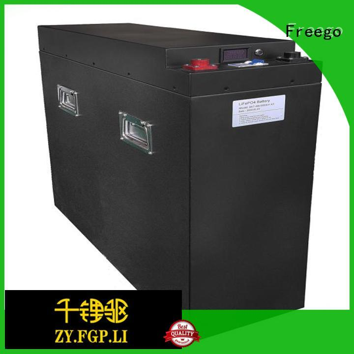 Freego 48v best battery for solar energy storage with good price for street lights