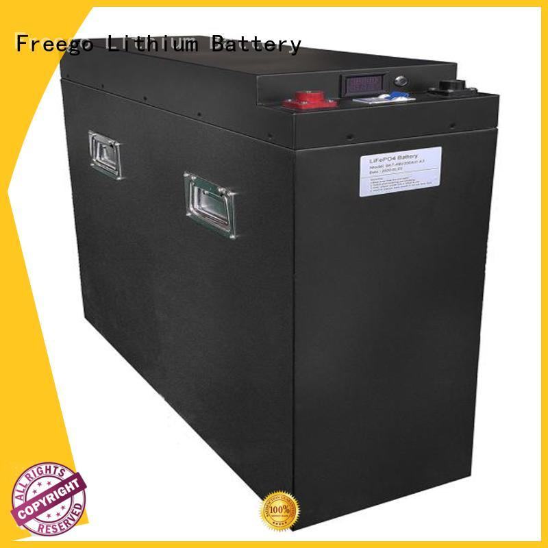 Freego long lasting best batteries for solar power storage with good price for street lights