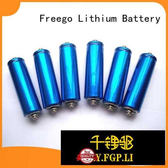 Freego cylindrical types of lithium batteries manufacturer for e-bike