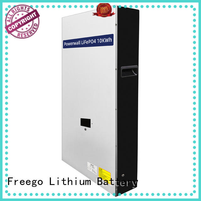 Freego solar lithium battery for solar storage inquire now for street lights
