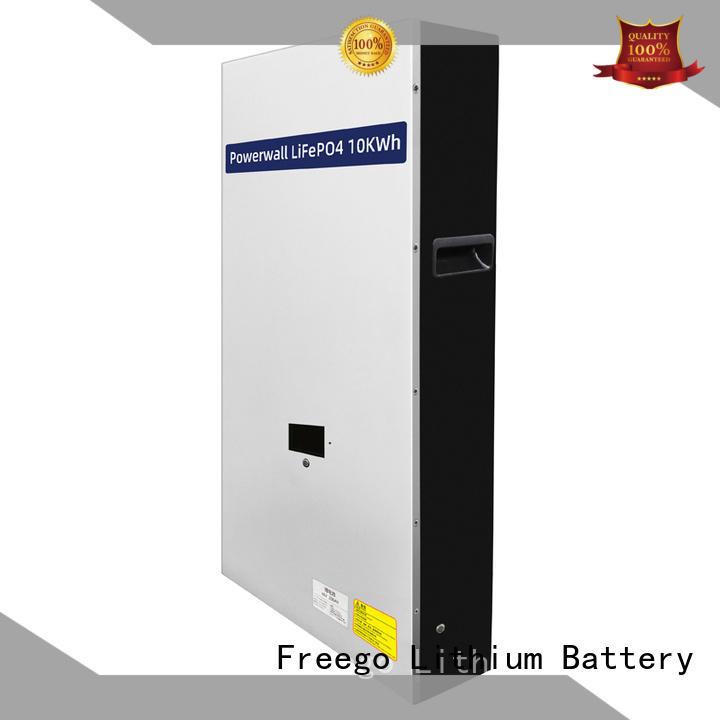 Freego light weight best batteries for solar power storage manufacturer for Solar energy storage