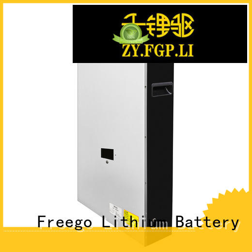 Freego solar best batteries for solar power storage with good price for street lights
