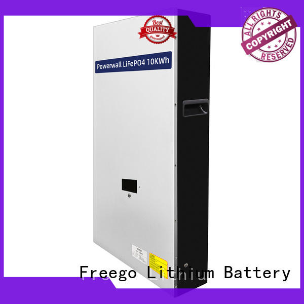 Freego practical lithium battery for solar storage manufacturer for Solar energy storage